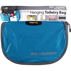 Sea to Summit Hanging Toilettaske small, blue/grey